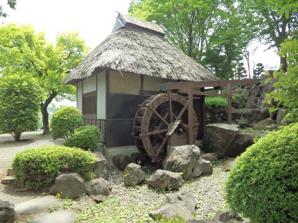愛宕山ふるさと公園 水車